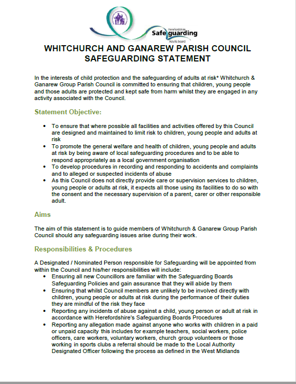 Safeguarding Statement